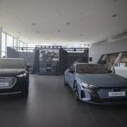 Audi a lansat in Romania doua noi modele 100% electrice: Audi e-tron GT si Audi Q4 e-tron