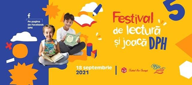 Editura DPH organizează Festivalul de joacă și lectură: 10 ore de povești, teatru și surprize pentru cititori mici și mari