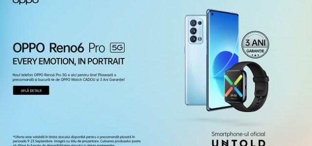 OPPO lansează noile Reno6 Pro și Reno6 în România
