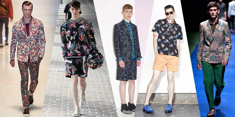 floral tops runways 2014