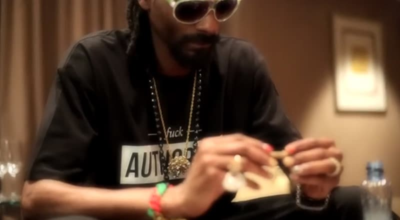 Snoop Dogg wearing Authority Colthing