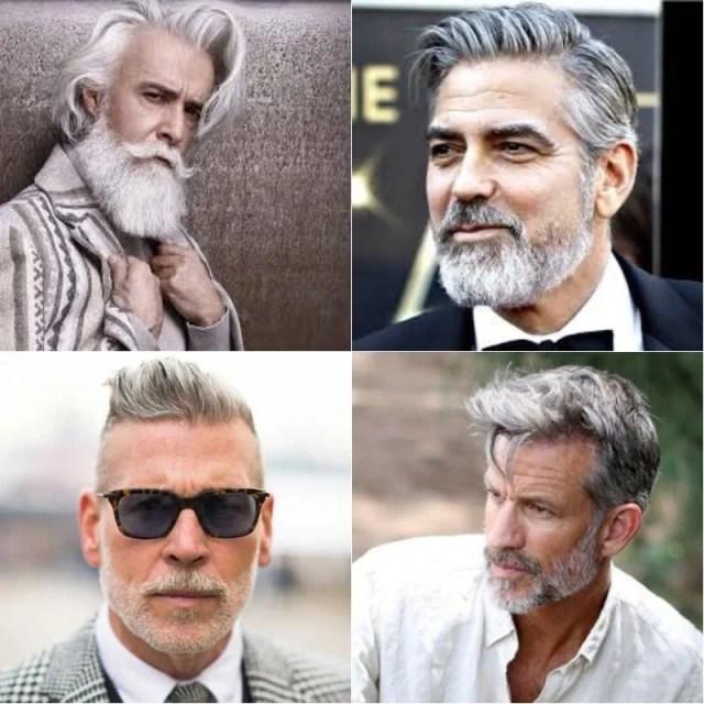 Grey Beard Styles