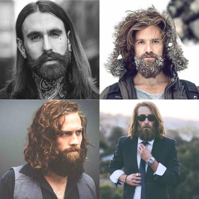Long Hair & Beards
