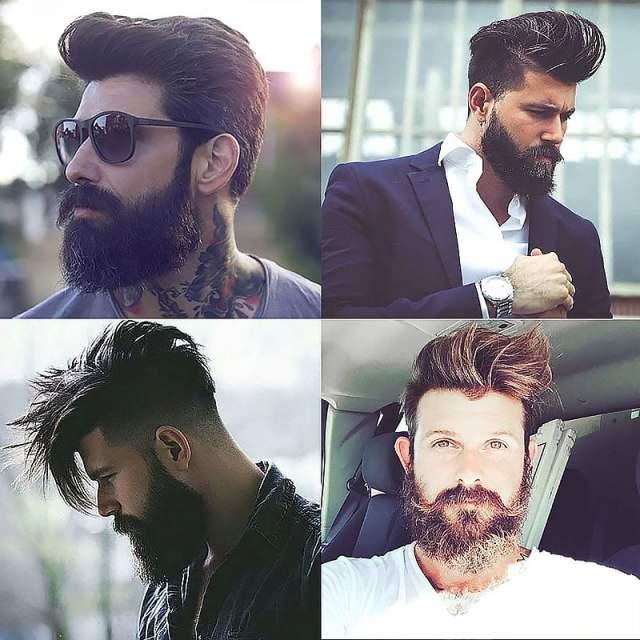 The Pompadour & Beards