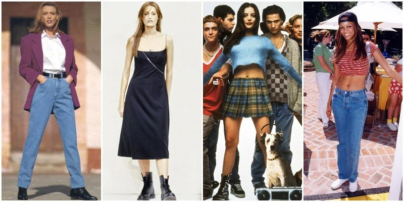 90 s Fashion  How to Get The 1990 s Style    The Trend Spotter 90s Fashion