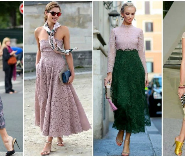 Outfit Ideas For Vintage Wedding Guests