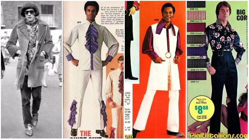 70s Peacock Fashion