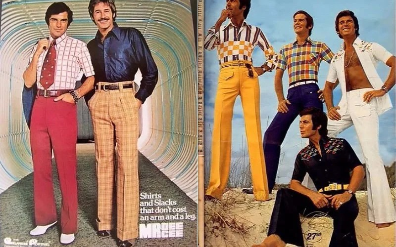 What Did People Wear in the 70s