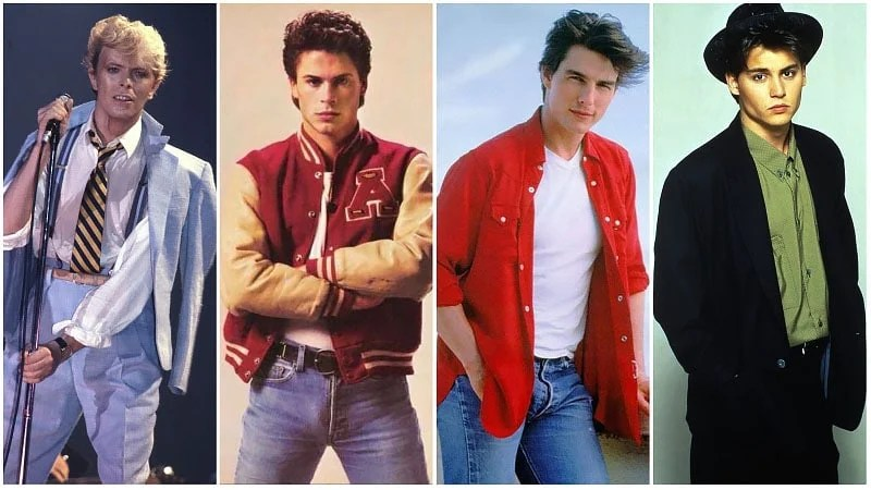 80s Fashion for Men  How to Get the 1980 s Style    The Trend Spotter 80s Fashion Icons