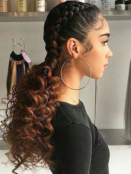 Braids Curls