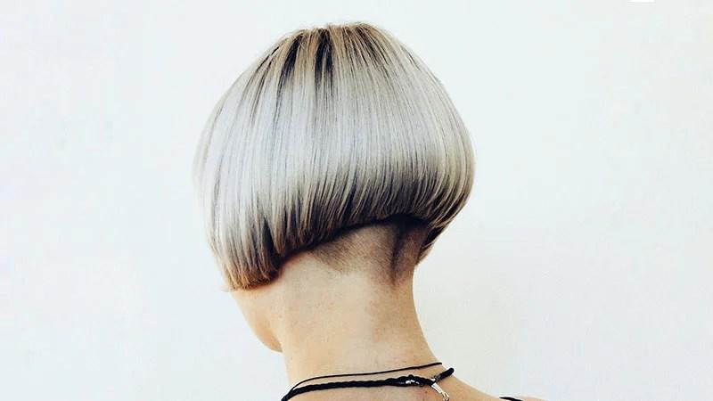 Paž/bob frizura sa obrijanim potiljkom