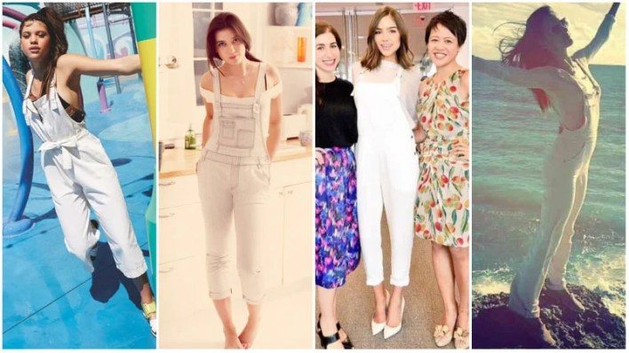 White Overalls Outfits