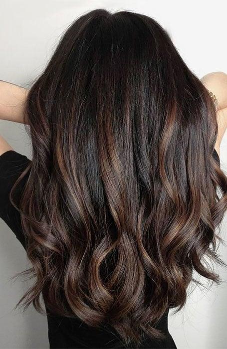 Blonde Hair Light Brown Streaks