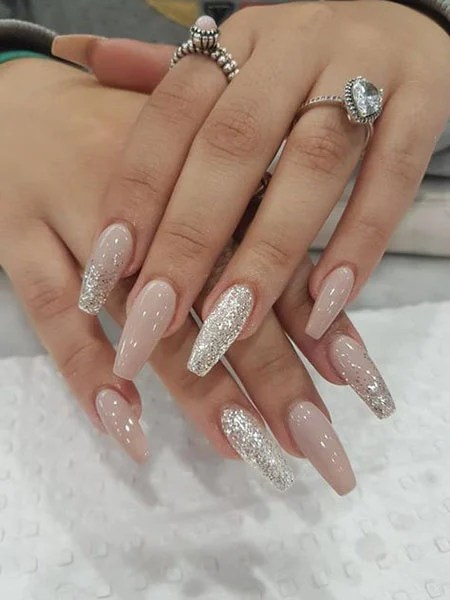 Nude And Silver