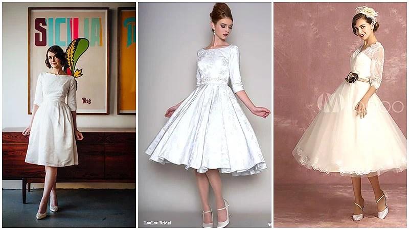 The Best Tea Length Dresses For Elegant Brides The Trend Spotter