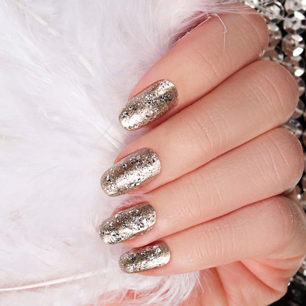 Metallic Luxury Nails