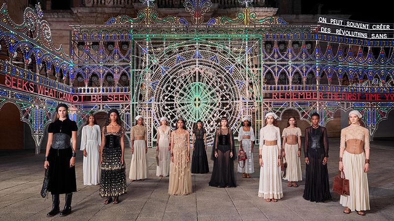 Dior Showcases Cruise Collection