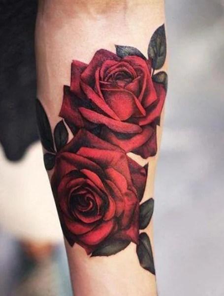 Rose Tattoo Men