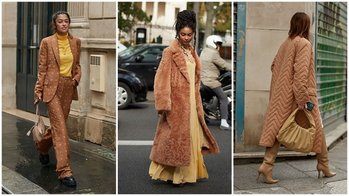 Yellow And Camel Color Styling