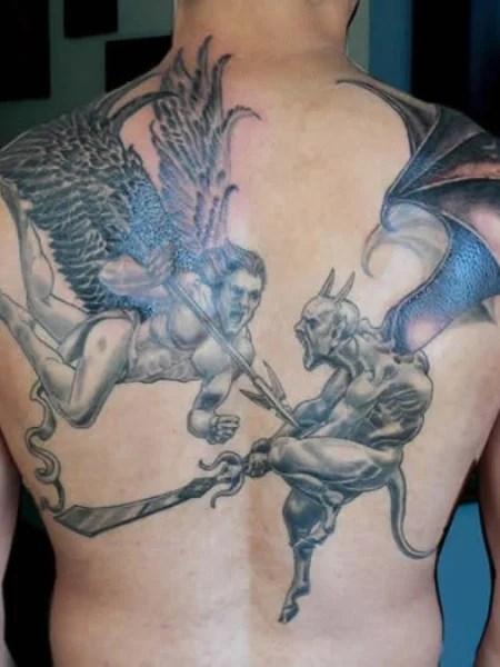 Angel And Demon Tattoo (1)