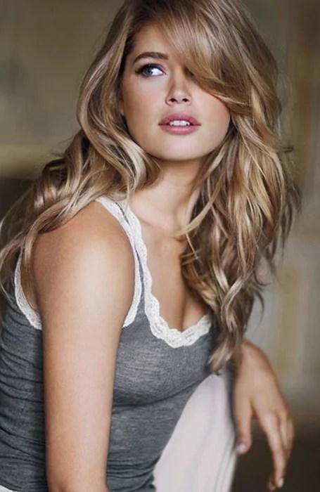 Golden Blonde Long Layeed Hair