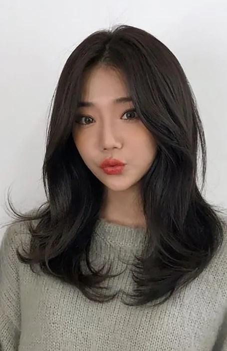 Long Layered Asian Hairstyles