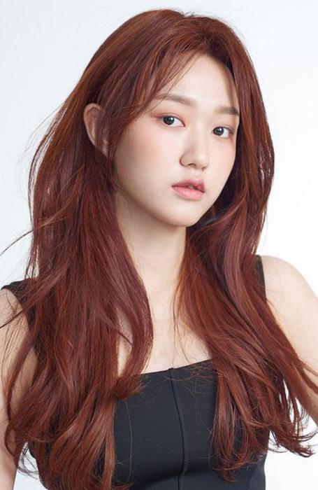 Red Long Layered Hair