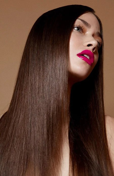 Straight Long Layered Hair