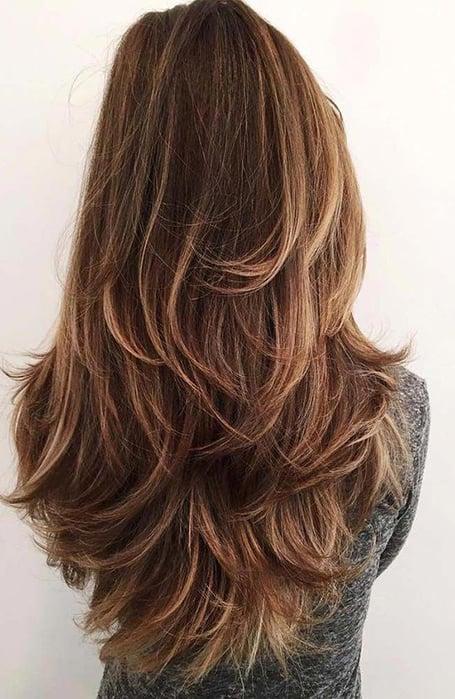 U Shape Long Haircut