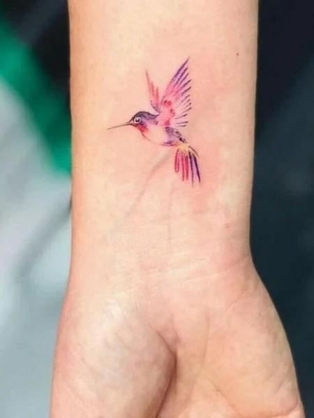 Bird Tattoo On The Wrist1 (1)