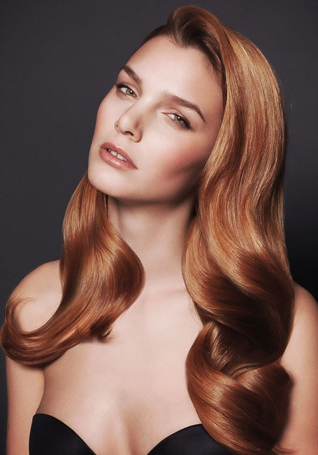 Elegant Strawberry Blonde Hair With Extensions