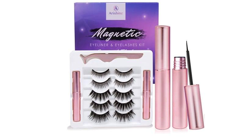 Arishine Magnetic Eyeliner And Lashes Kit