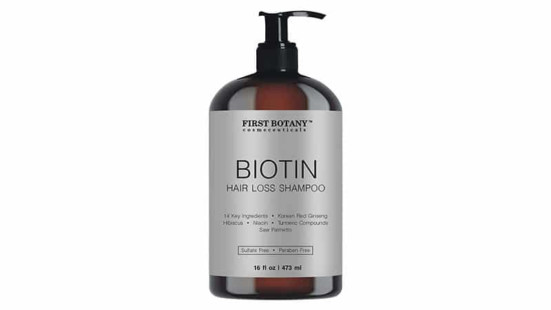 First Botany Cosmeceuticals Hair Regrowth And Anti Hair Loss Shampoo
