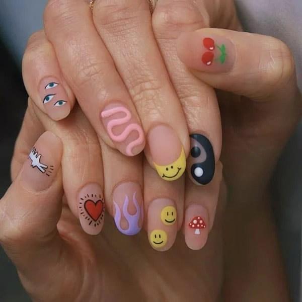 Fun Art Nail Ideas Imarninails
