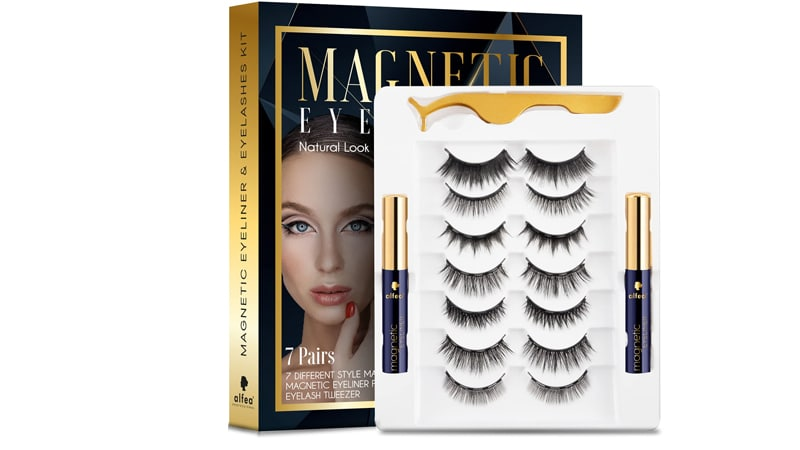 Alfea Magnetic Lashes With Eyeliner