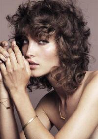 Womens Curly Hair
