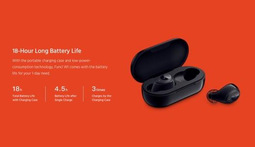 Funcl W1 Battery
