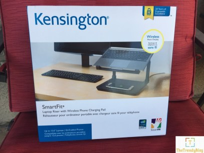 Kensington Laptop stand with wireless charging