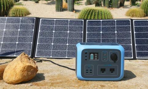 Maxoak bluetti AC50s Solar