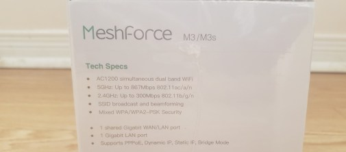 Meshforce m3s features