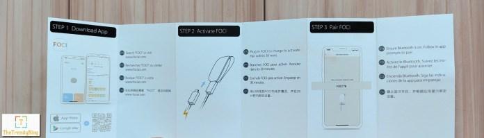 FOCI Wearable setup