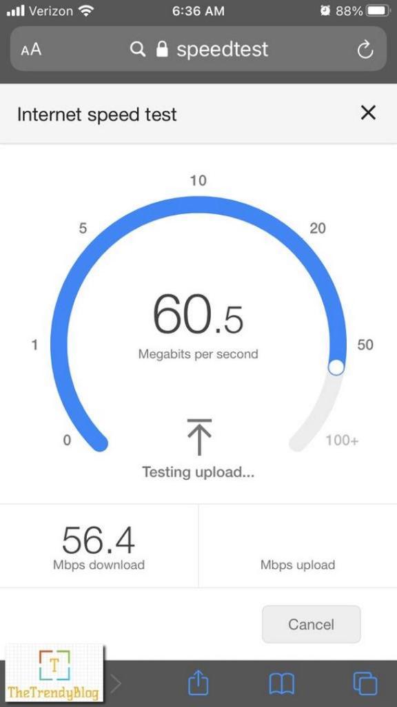 Motorola MH307 Mesh WiFI Speed - Near Router