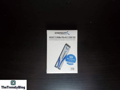 Sabrent Rocket Q NVMe M2 SSD