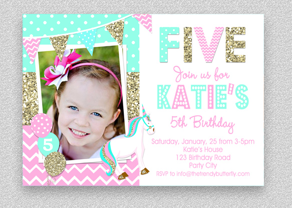 unicorn birthday invitation unicorn birthday party invitation girls birthday invitation unicorn birthday party unicorn birthday party