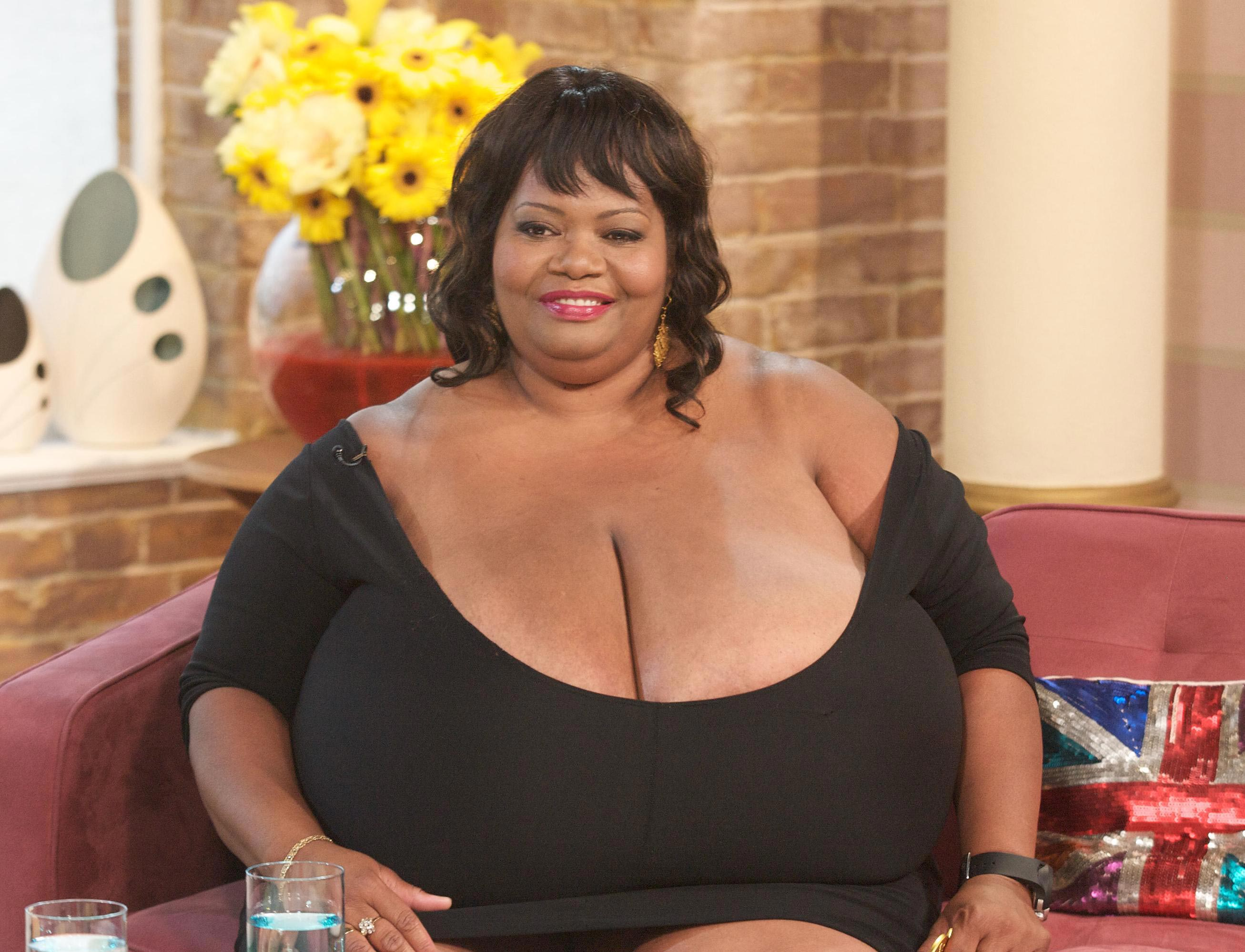 Women with large boobs accept