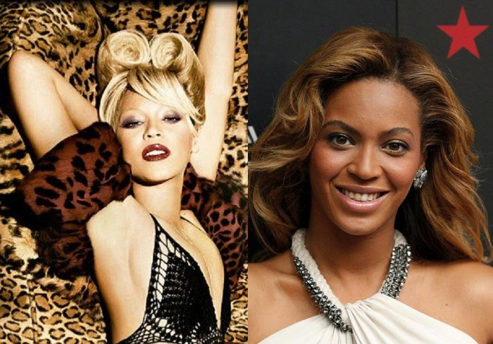 Beyonce Bleaching The Trent
