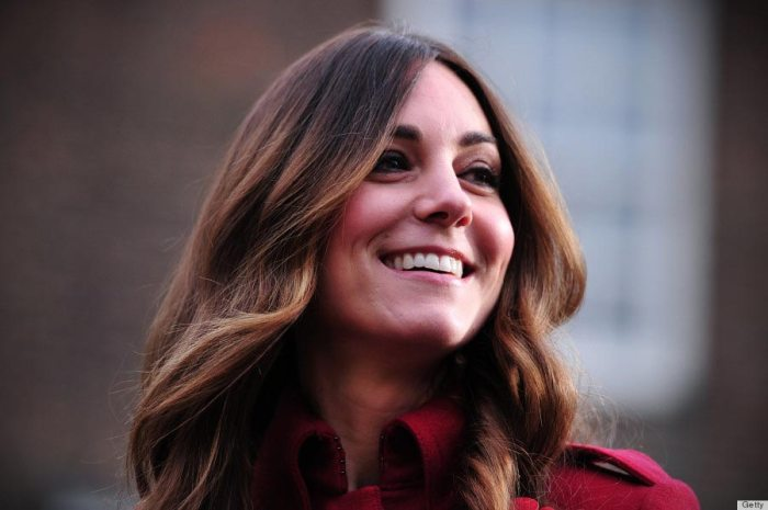 Kate Middleton attends the Royal British Legion's London Poppy Day Appeal at Kensington Palace on November 7, 2013.