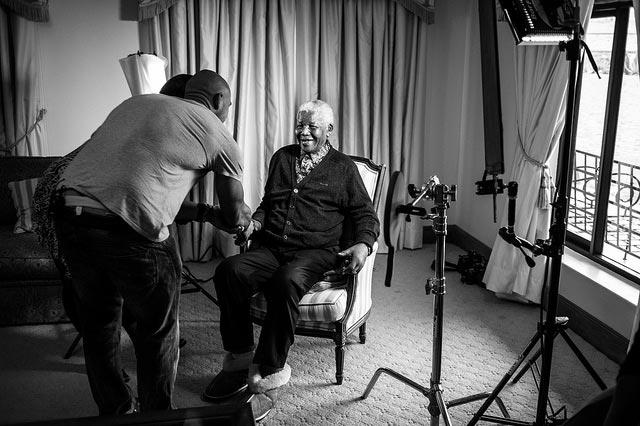 Nelson MAndela's Last Photo Shoot The Trent5