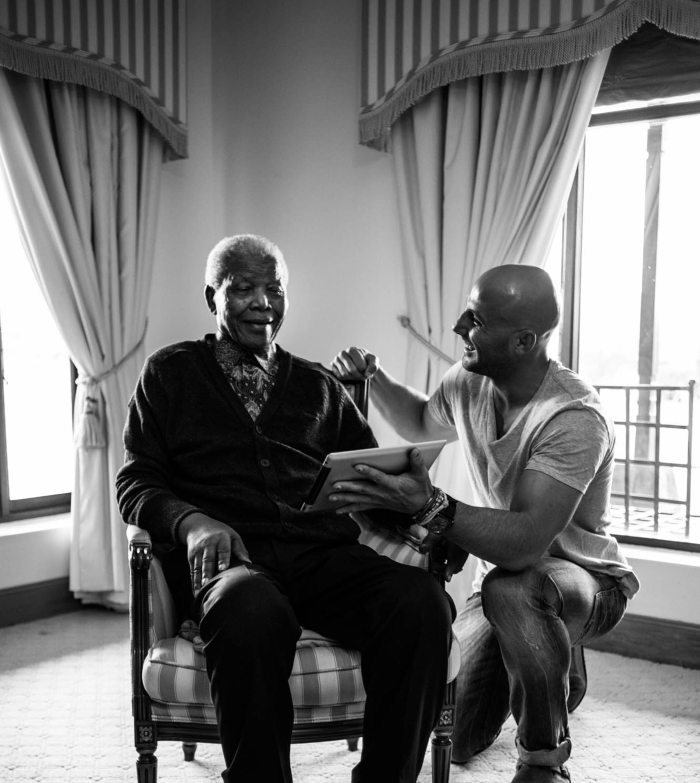 Nelson Mandela: Adrian Steirn's 21 Icons South Africa Series