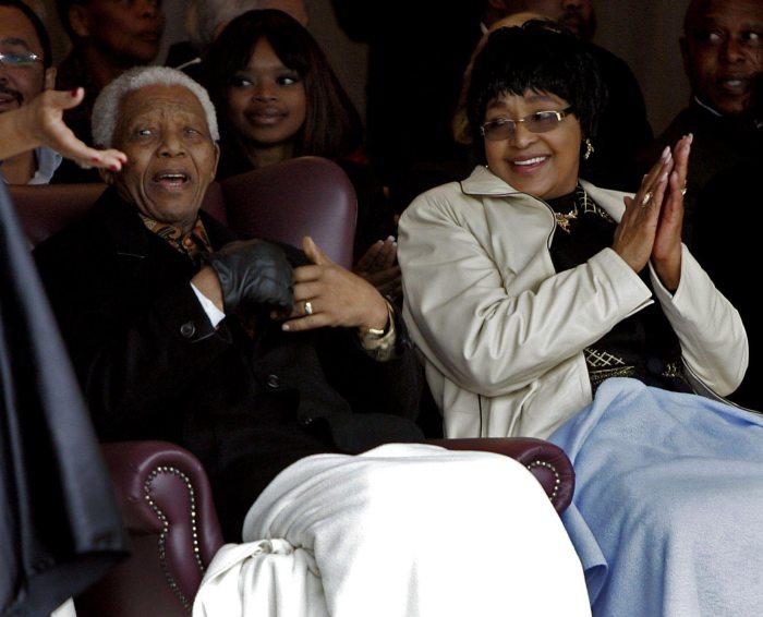 Nelson and Winnie Mandela The Trent 9